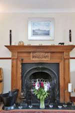 Fireplace in the Lounge