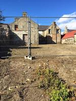 Rear Garden/Yard area of 8 & 9 The Square
