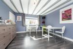 Lounge utilised as Dining Room