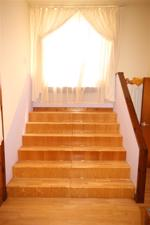 Master bedroom steps