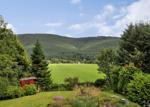 Views Over The Garden and Surrounding Hills