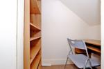 Study area (under stairs)
