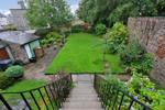 View over shared rear garden