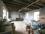 Upper storage floor of store