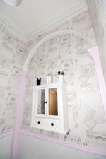Charming period feature in Shower Room