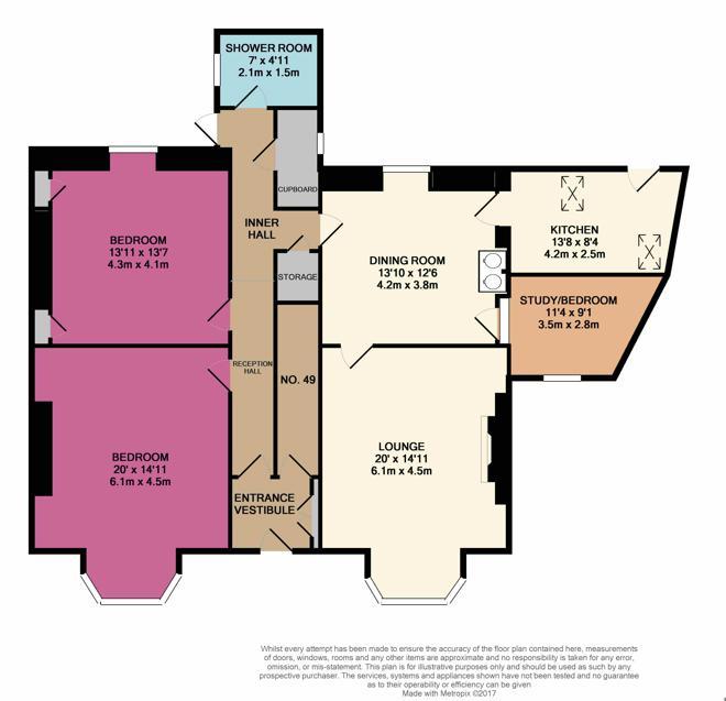 47 Argyll Place Floor Plan