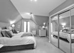 MASTER BEDROOM WITH EN-SUITE SHOWER ROOM ASPECT 2