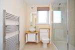 Modern attractive shower room