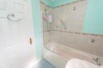 Alternative view of family bathroom