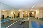 Shared well equipped gymnasium