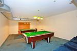 Shared games room with pool tables