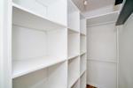 Walk-in storage cupboard