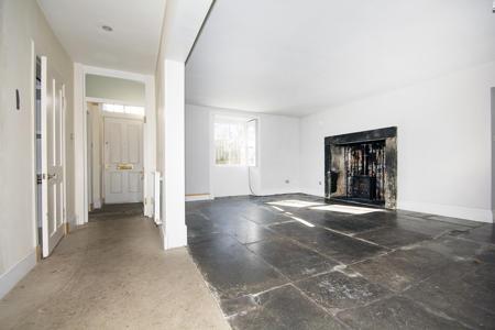 Entrance hallway leading to large lounge