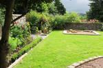 Garden sandpit area