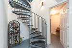 Spiral Staircase to Garage