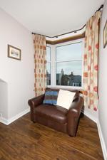 Bay window in lounge