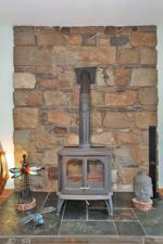 Multi-Fuel Stove in Lounge