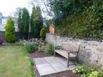 Rear garden seating area