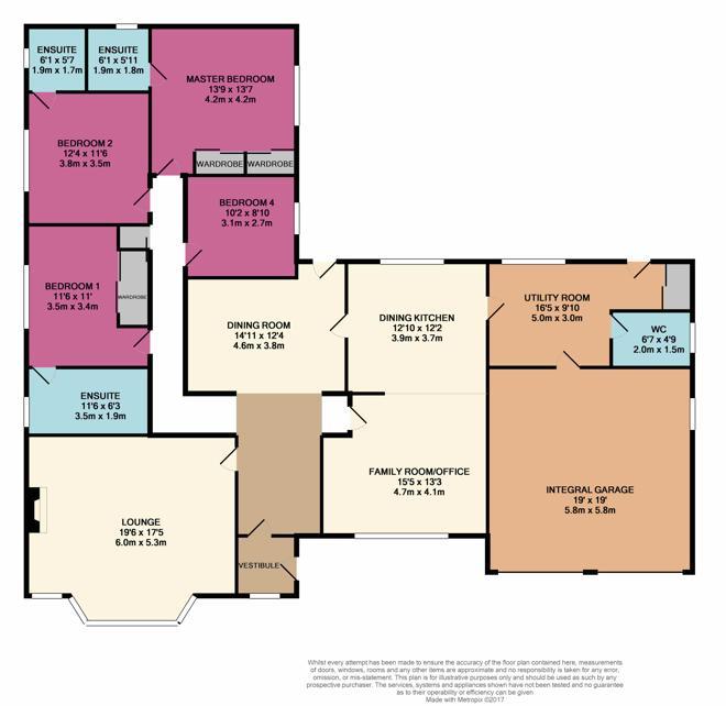 Tillyburnie Floor Plan