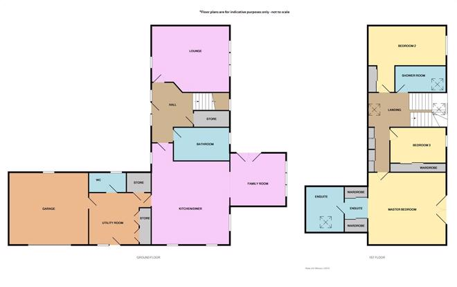 Floor plans - not to scale