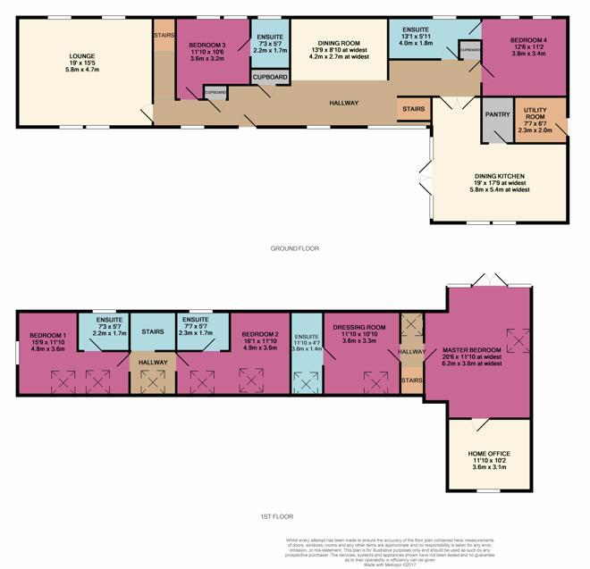 Heugh Head Mill Floor Plan