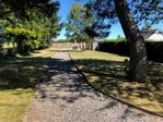 Pathway leading to outbuildings