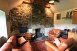 Forrig Bothy - Sitting Room & Kitchen