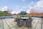 Roof garden terrace (alternative view)