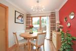 Alternative view of  open plan living/dining room