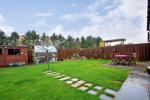 Beautifully presented, enclosed rear garden