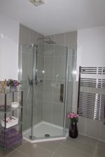 Shower within Bathroom