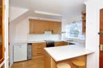 Open plan kitchen/dining room