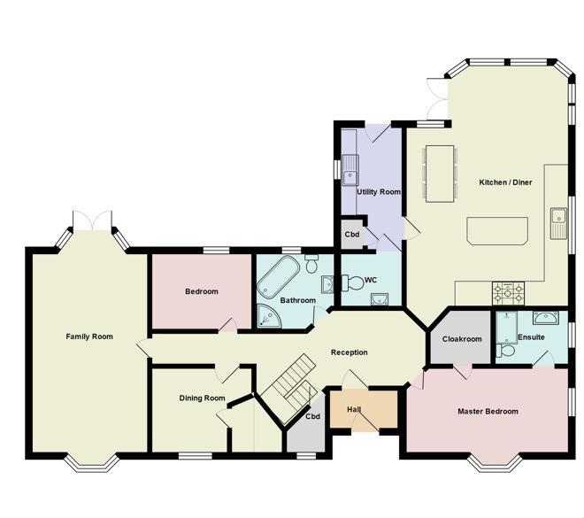 Ardgowan House, Ground Floor