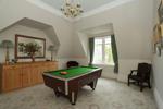 Second floor bedroom/pool room