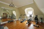 Second floor gym/bedroom