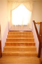 Master bedroom steps