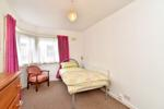 Lower ground rear corner bedroom