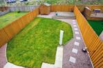 Garden view from master bedroom