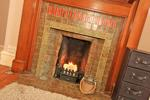 Bedroom 1 fireplace