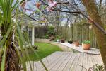 garden showing decked area