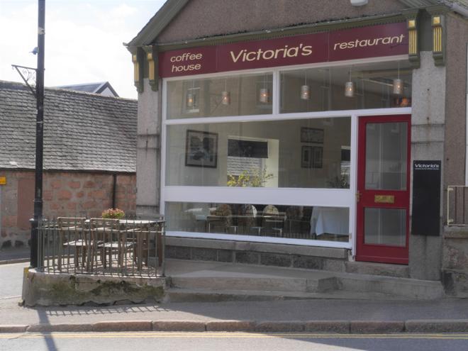 Victoria's, 1 Braemar Road, Ballater