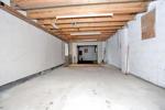 Tandem style triple garage, interior photo