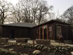 Outbuilding with hot tub