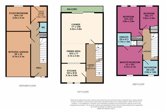 23 Millside Road Floor Plan