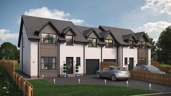 Front of Property (artists impression)