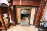 Traditional Open Fireplace