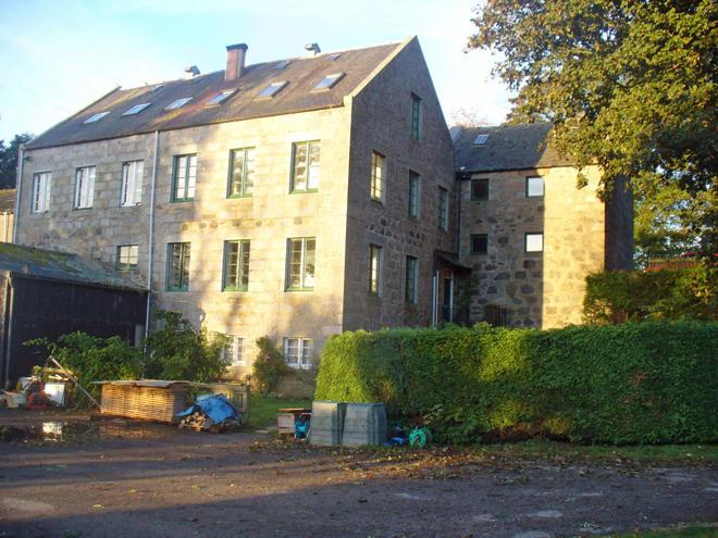 former mill building