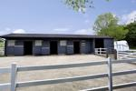 Stable Block, Yard, Feed and Hay Store