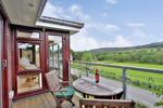 dining room balcony