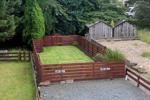 Fully enclosed exclusive garden and shed